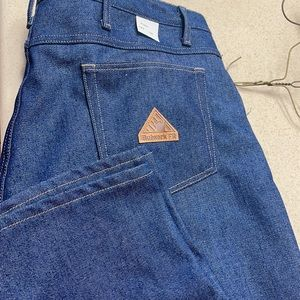 Fire resistant work jeans
